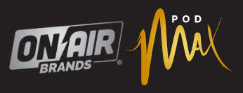 PodMAX powered by On Air Brands